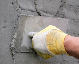 hand-plastering